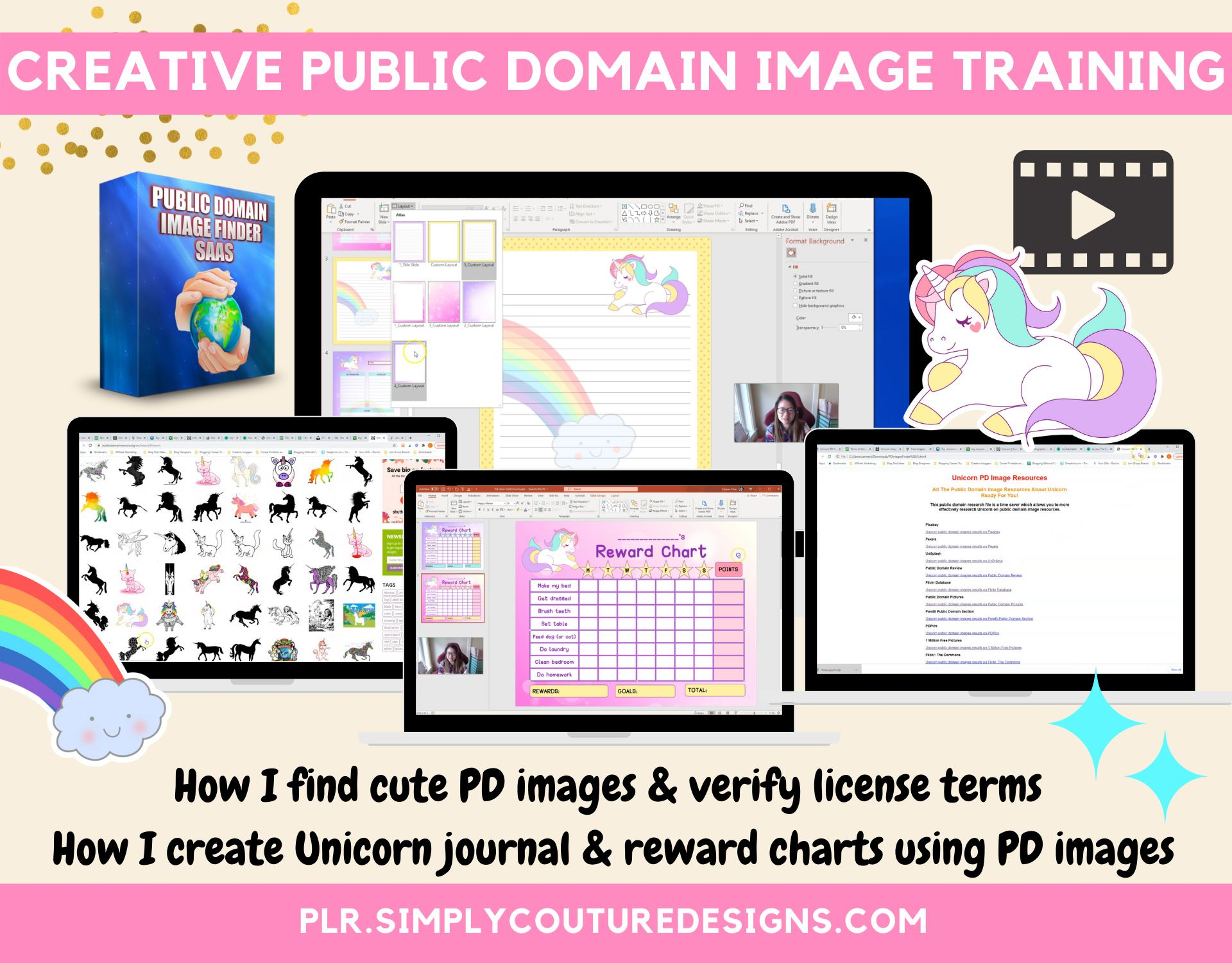 Creative Public Domain Image Training