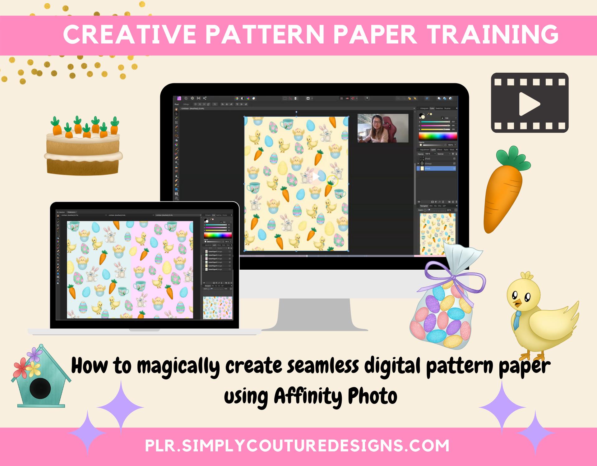 Creative Pattern Paper Training