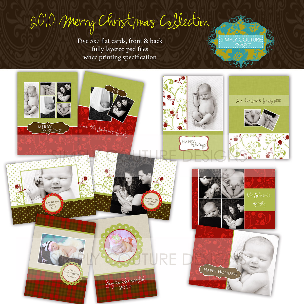 Merry Christmas Collection 175 Original 35 Simply Couture