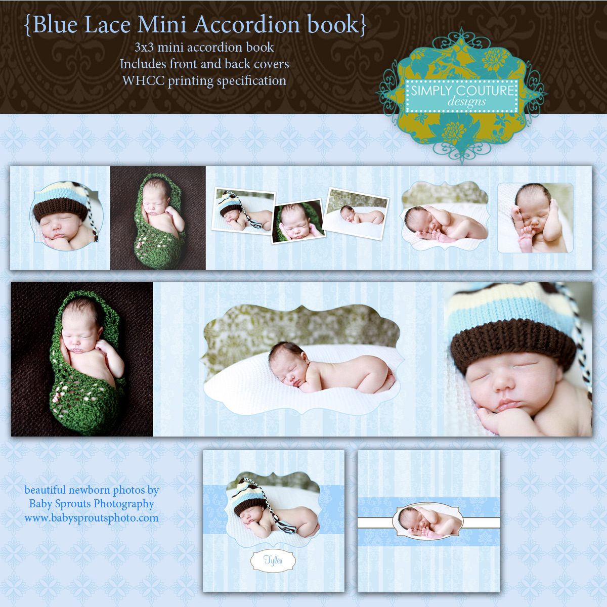 Baby templates for photographers | Simply Couture Designs ...