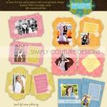 Sugar Sorbet Senior Grad Card Collection