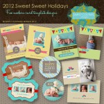 Sweet Sweet Modern Holiday Card Collection Templates