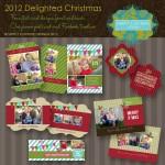 Holidays card templates. Holiday Marketing template.