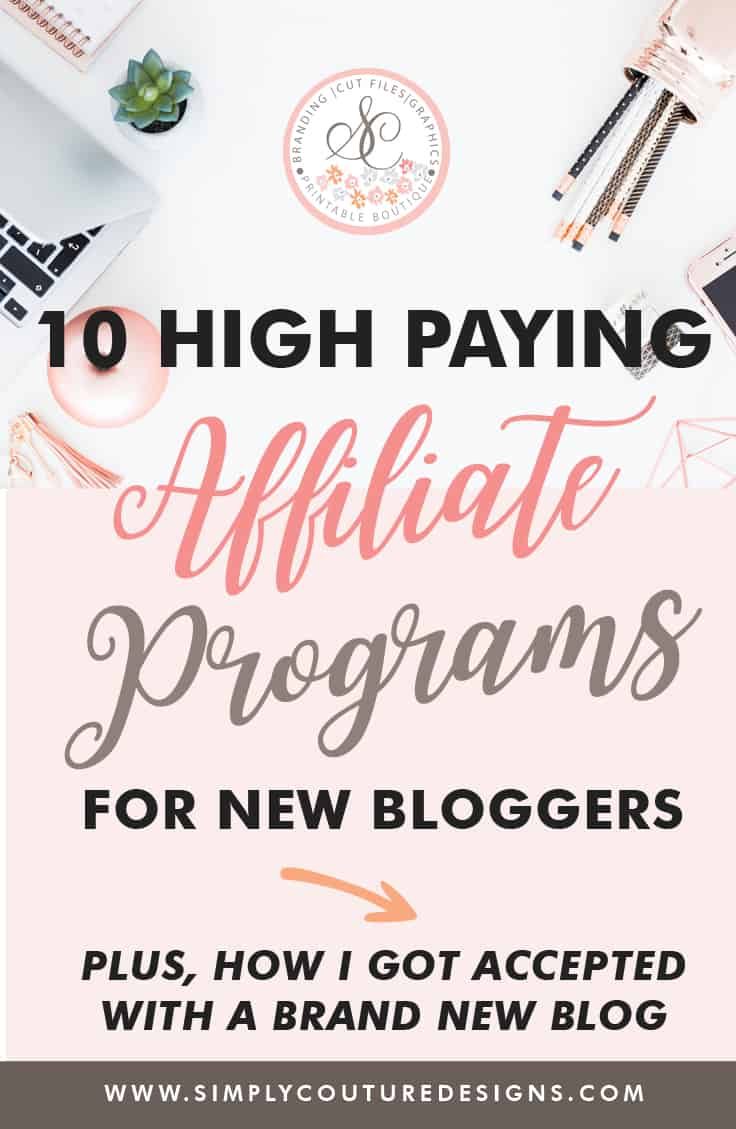 High Paying Affiliate programs for new bloggers | Find out how I got accepted into 10 high paying affiliate programs for new bloggers with a brand new blog. 10 High Paying Affiliate Programs That Accept New Bloggers. This post, I will focus on how to start affiliate marketing, which affiliate networks to join and how to get approved by some high paying affiliate programs as a new blogger.
