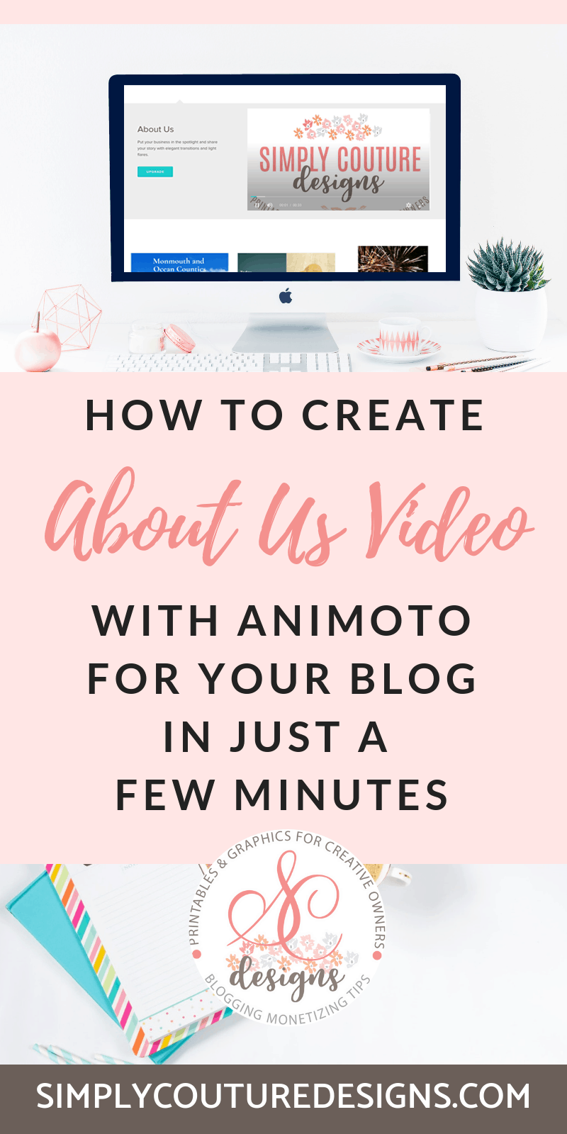 Create About Us video with Animoto.Put your business in the spotlight and share your story with elegant transitions and light flares with Animotos pre-built storyboard