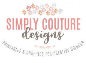Make money blogging for beginners | Monetization tips | Pinterest strategy | DIY watercolor | Printables | Graphic for female and creative shop owners. Simply Couture Designs.