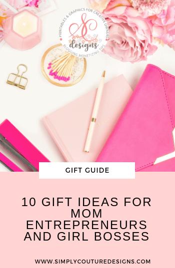 Gift ideas for women entrepreneurs