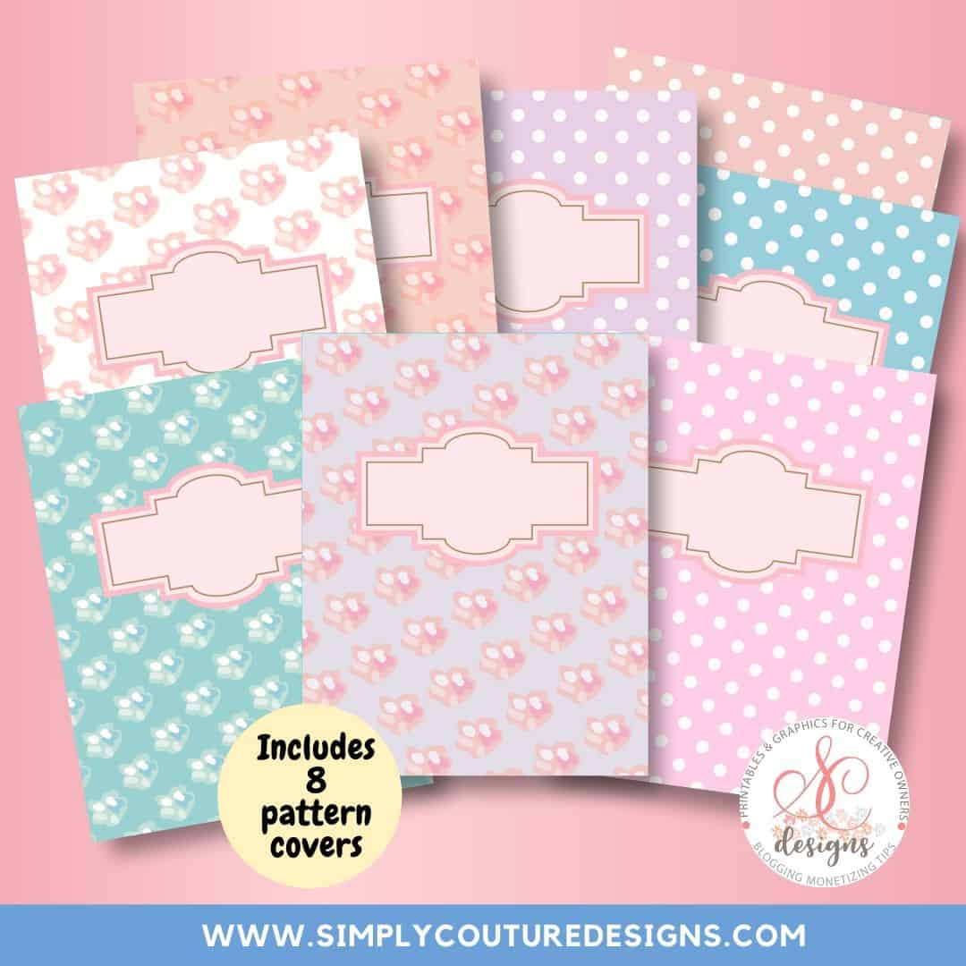 Work at home planner templates, sell planner printables on your website with these PowerPoint templates. Commercial use allowed.
