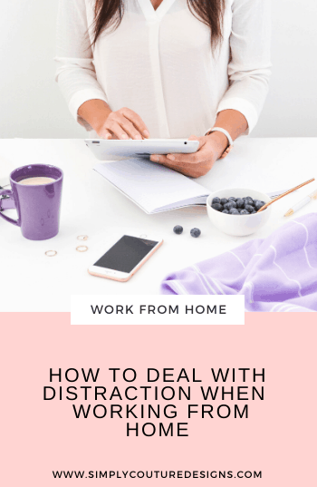 How to deal with distraction when working from home #workfromhome #dealwithdistraction