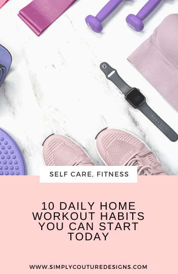 10 daily home workout habits you can start today #homeworkout #workouthabits #stayathome #homefitness