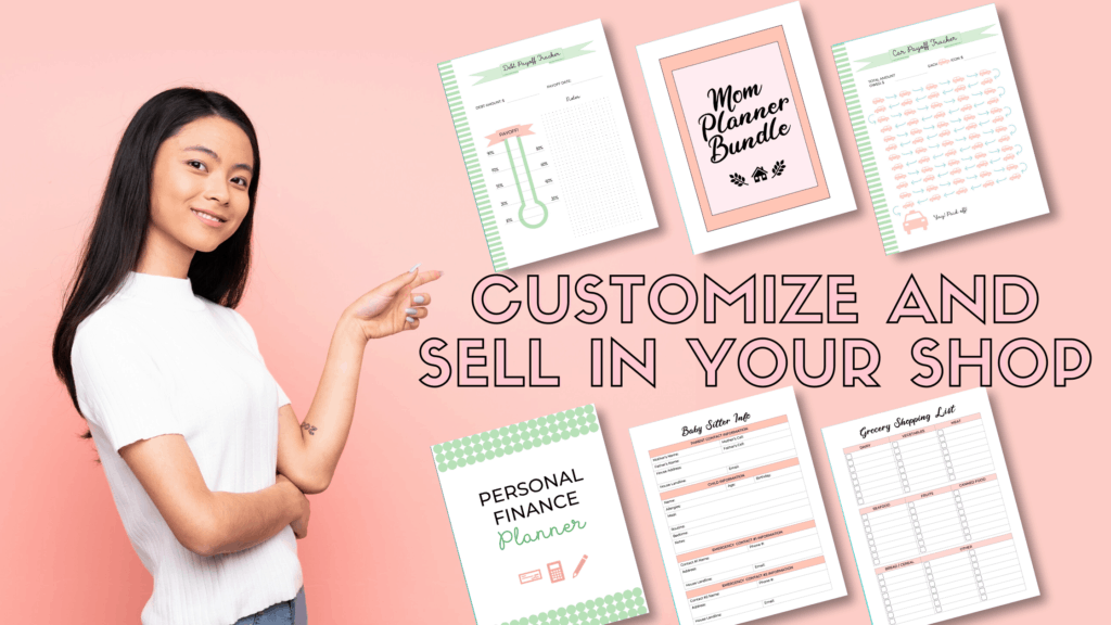 Simply Couture Designs commercial planner templates