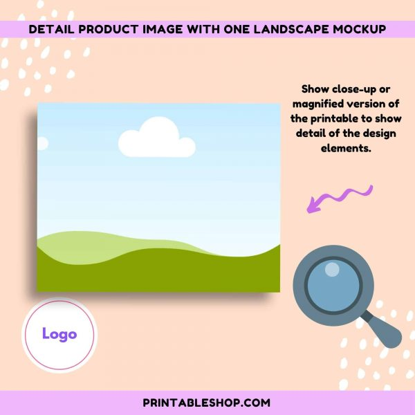 Etsy Printable Product Image Mockup Template by SCD (2)