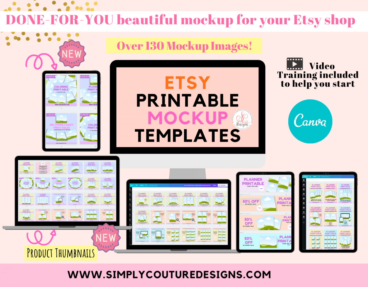 Etsy Shop Printable Seller Kit by SCD Promo (3)