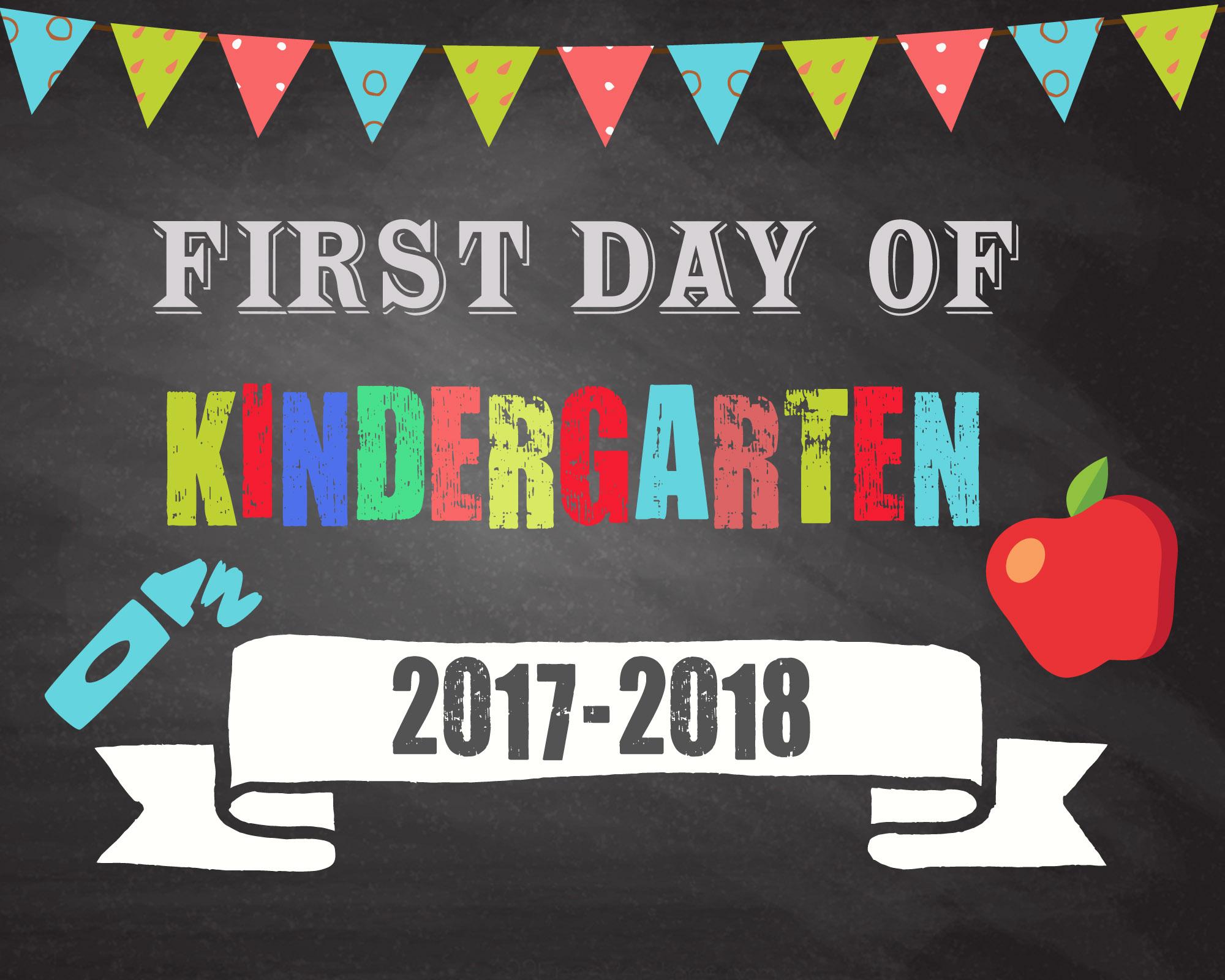 FirstDayOfKindergarten